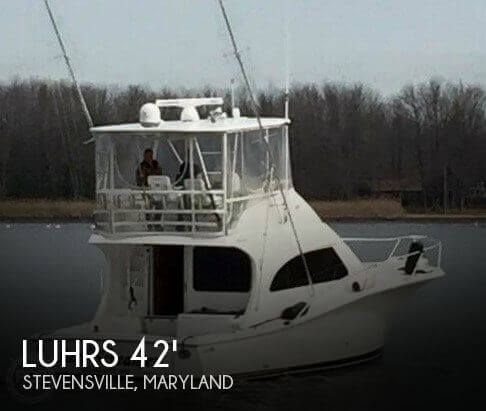 Used Boats For Sale in Maryland by owner | 2005 Luhrs 41 Convertible