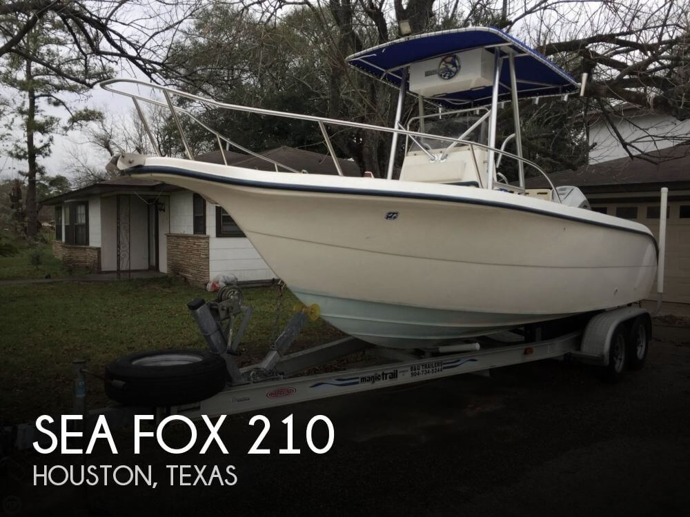 Sea Fox 210 For Sale In Houston Tx For 19 500 Pop Yachts