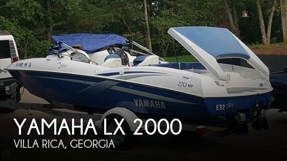 Used Yamaha Boats For Sale in Georgia by owner | 2002 Yamaha 20