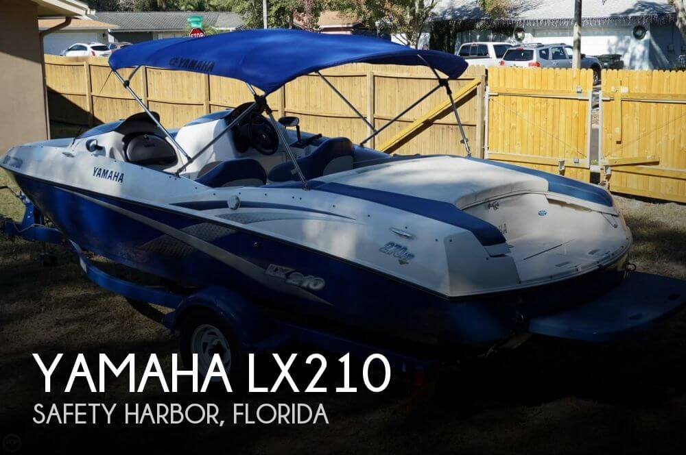 Sold yamaha lx210 boat in safety harbor fl 119371 for Yamaha jet boat for sale florida