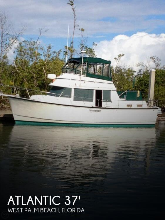 Used Atlantic Boats For Sale by owner | 1982 Atlantic 37