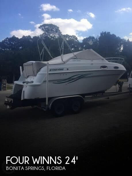 Used Four Winns Boats For Sale in Florida by owner | 1999 Four Winns 24