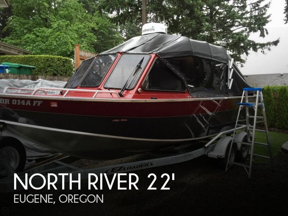 Sold north river 22 seahawk boat in eugene or 119482 for Fishing eugene oregon