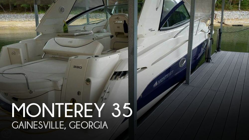 Used Monterey Boats For Sale in Georgia by owner | 2007 Monterey 35
