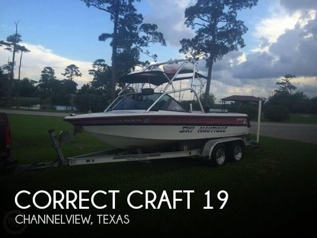 Used Boats For Sale by owner | 1994 Correct Craft 19