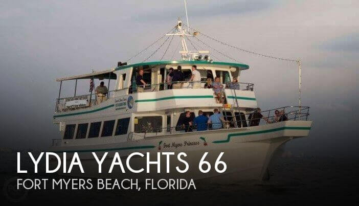 Used Boats For Sale in Cape Coral, Florida by owner | 1984 Lydia Yachts 66