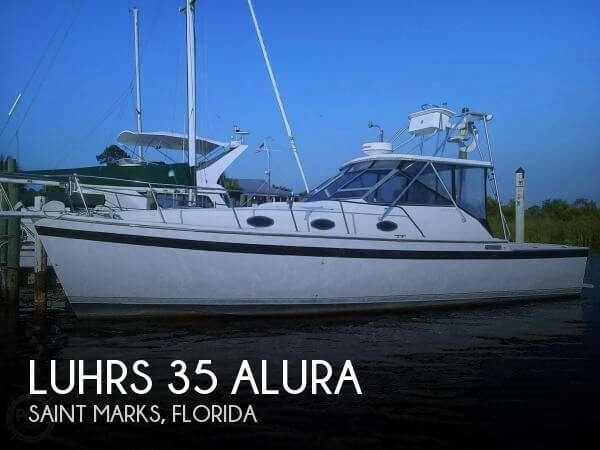 Used Fishing boats For Sale in Tallahassee, Florida by owner | 1988 Luhrs 35