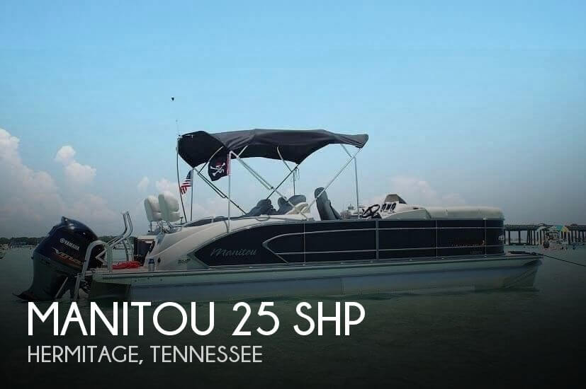 Used Pontoon Boats For Sale by owner | 2015 Manitou 25