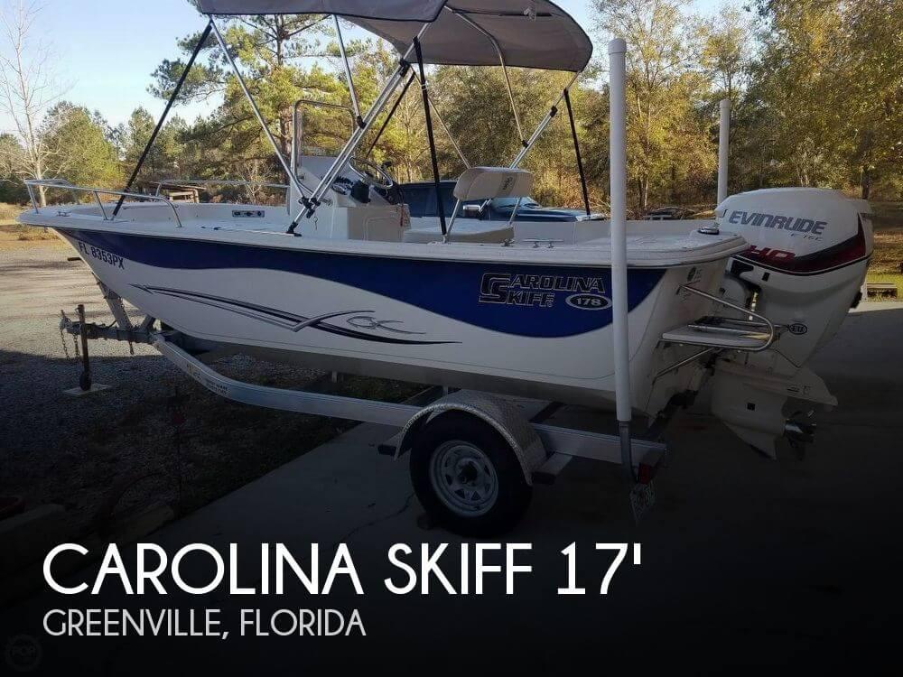 Used Carolina Skiff Boats For Sale by owner   2015 Carolina Skiff 17