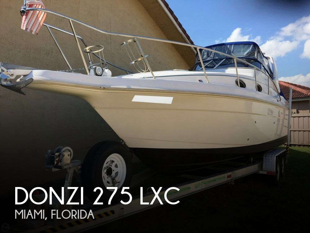 1996 Donzi 275 LXC
