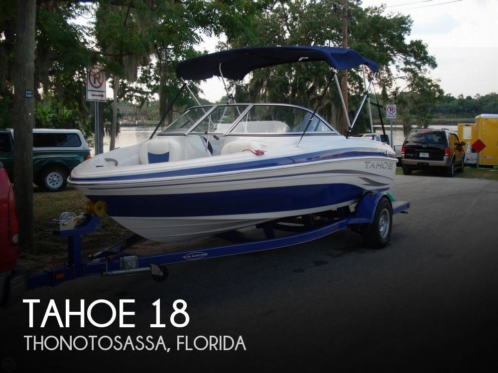 tahoe 18 for sale in thonotosassa fl for 15 900 pop yachts. Black Bedroom Furniture Sets. Home Design Ideas