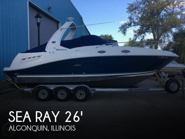 Used Boats For Sale in Rockford, Illinois by owner | 2008 Sea Ray 26