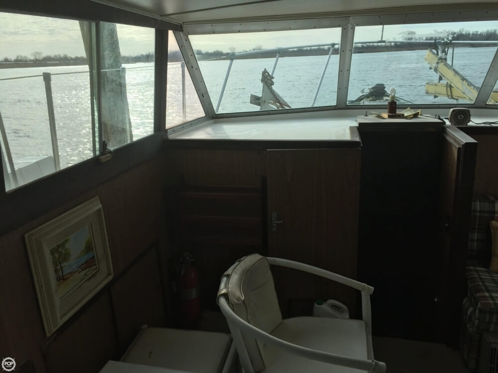 1972 Bertram boat for sale, model of the boat is Salon Cruiser Double Cabin & Image # 13 of 40