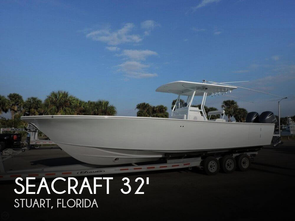 Used Boats For Sale in Port St. Lucie, Florida by owner | 2000 SeaCraft 32