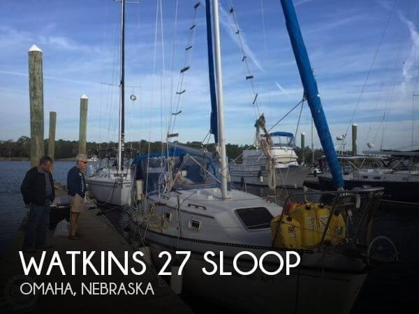 Used Boats For Sale in Lincoln, Nebraska by owner | 1983 Watkins 22