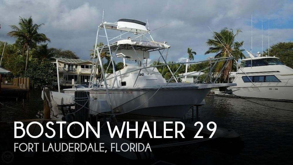 Used Boston Whaler Boats For Sale in Florida by owner | 1993 Boston Whaler 29