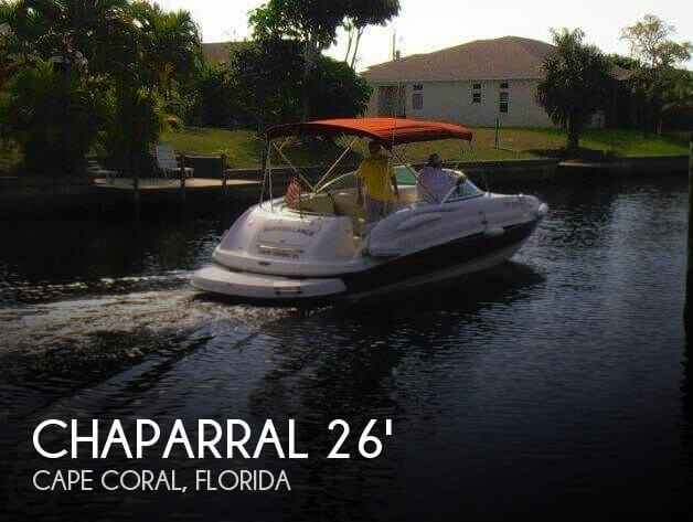 Used Chaparral Deck Boats For Sale by owner | 2004 Chaparral 26