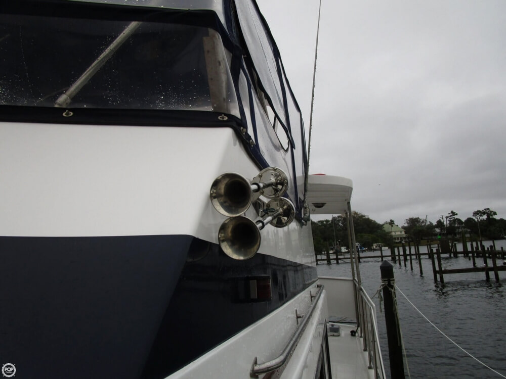 1987 Marine Trader boat for sale, model of the boat is 35 Sundeck Trawler & Image # 8 of 40