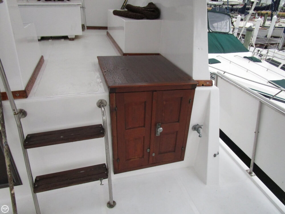 1987 Marine Trader boat for sale, model of the boat is 35 Sundeck Trawler & Image # 20 of 40