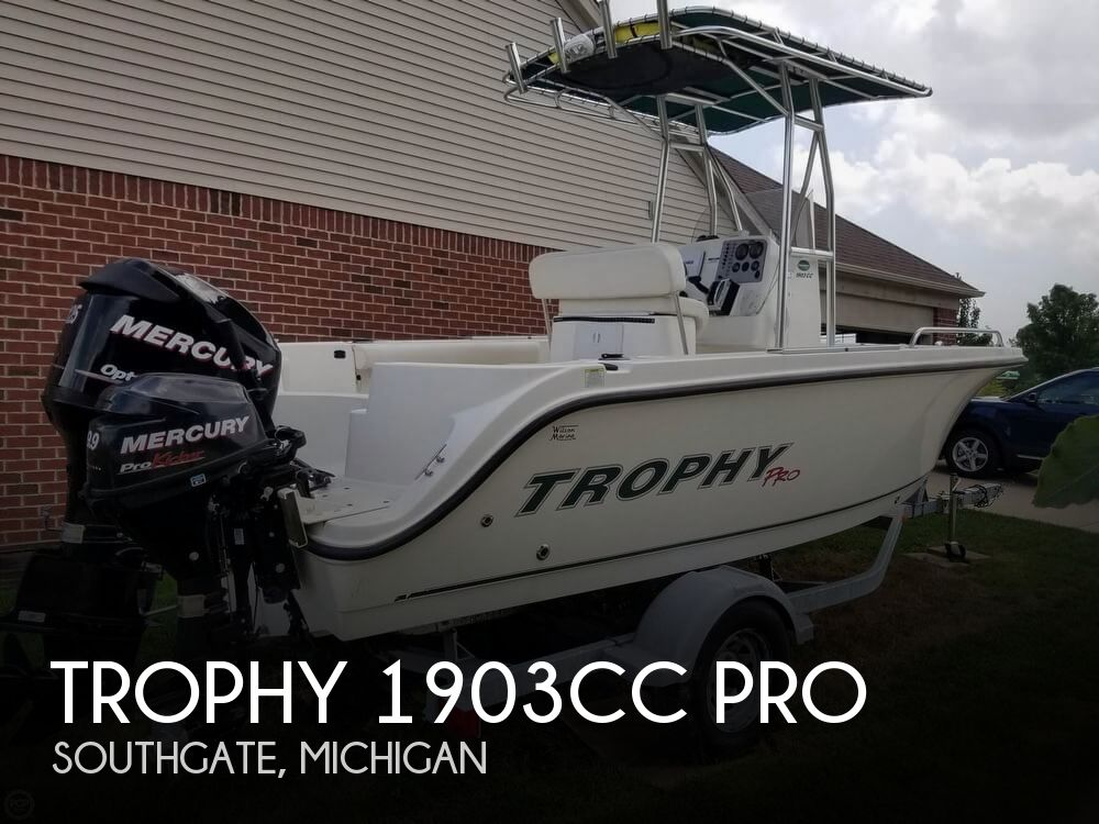 Trophy 1903cc pro boat for sale in southgate mi for for Fishing boats for sale in michigan