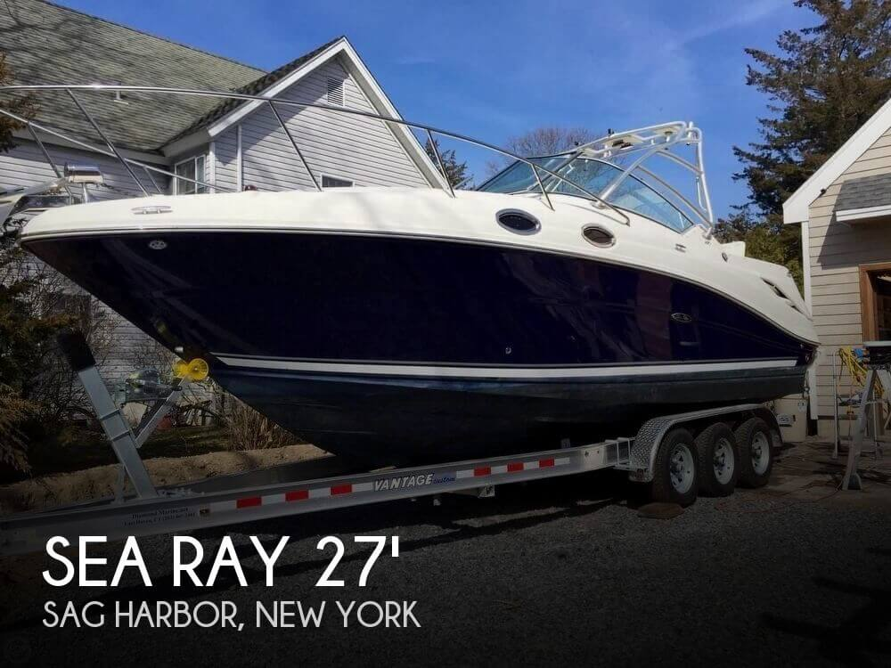 Used Boats For Sale in Providence, Rhode Island by owner | 2005 Sea Ray 27