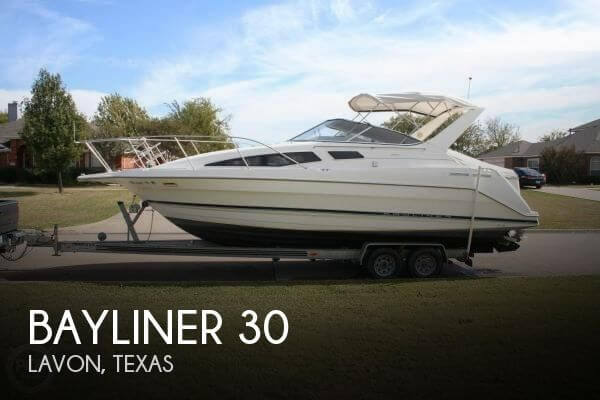 30 Foot Bayliner 30 30 Foot Motor Boat In Lavon Tx