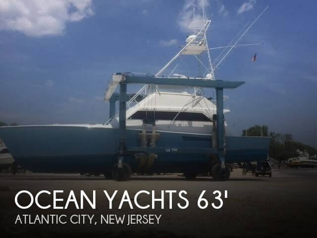 Used Ocean Yachts Boats For Sale by owner | 1989 Ocean Yachts 63
