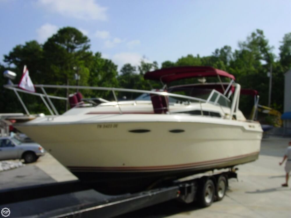 1987 Sea Ray boat for sale, model of the boat is 300 Sundancer & Image # 3 of 40