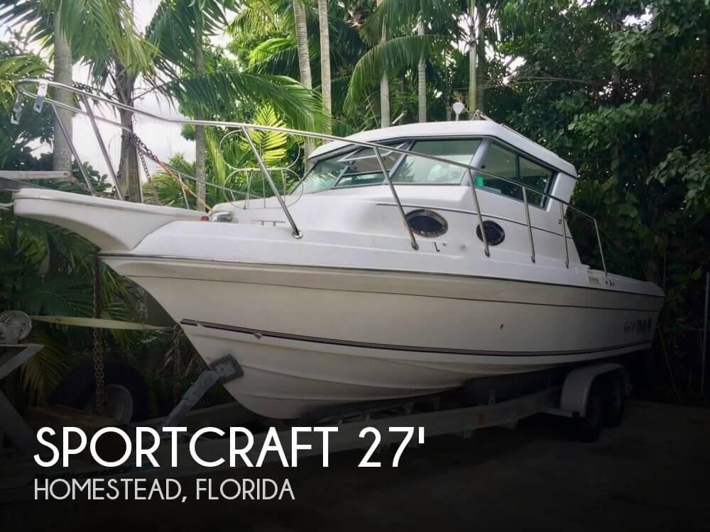 For Sale Used 2003 Sportcraft 272 Sportfish In Homestead