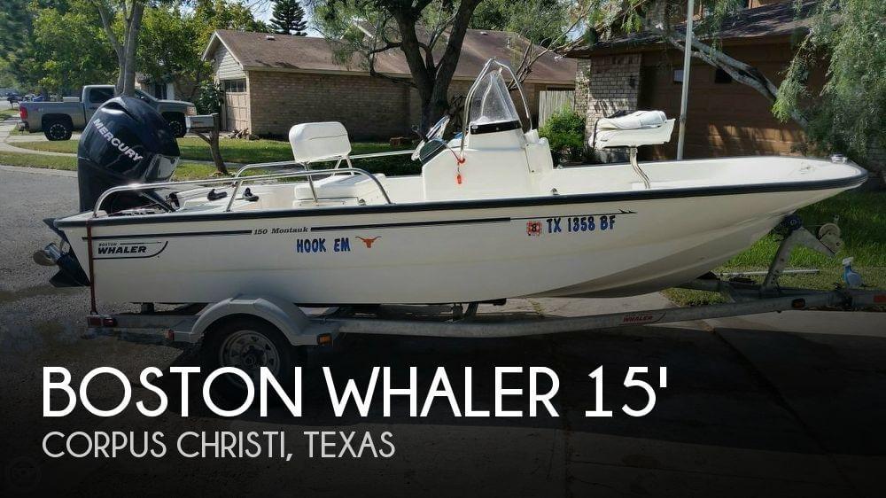 15 Foot Boston Whaler 15 15 Foot Motor Boat In Corpus