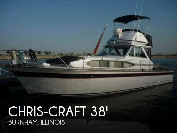 Used Chris-Craft Motoryachts For Sale by owner | 1969 Chris-Craft 38