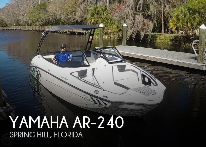 Used Yamaha Boats For Sale in Florida by owner | 2016 Yamaha 24