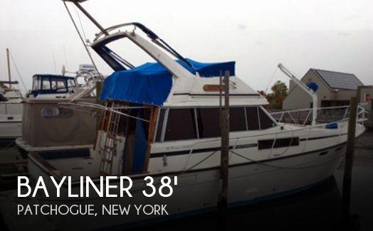 Used Bayliner Boats For Sale in New York by owner | 1986 Bayliner 38