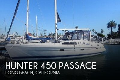 Used Hunter Sailboats For Sale by owner | 1998 Hunter 450 Passage