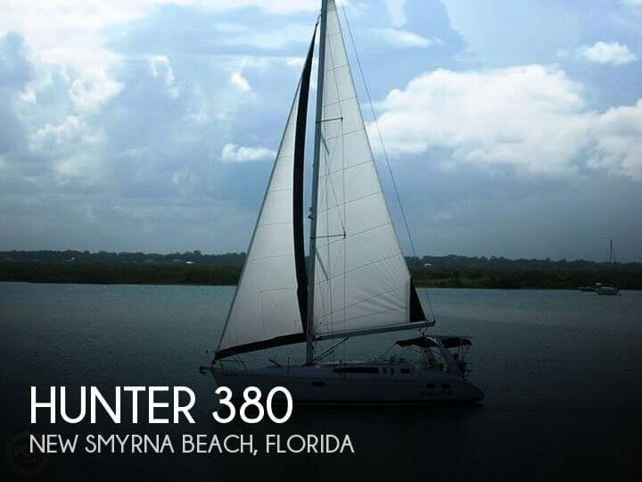 Used Hunter Sailboats For Sale in Florida by owner | 2000 Hunter 380
