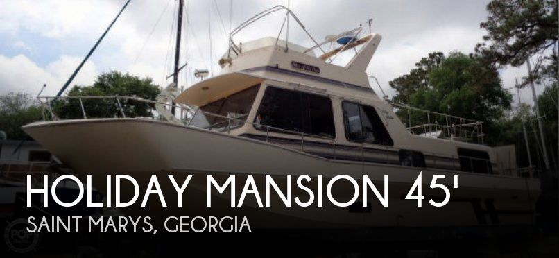 Used Holiday Mansion Houseboats For Sale by owner | 1992 Holiday Mansion 45