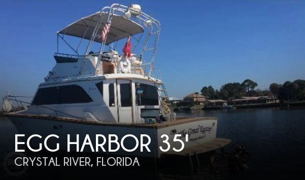 Used Fishing boats For Sale in Ocala, Florida by owner | 1984 Egg Harbor 35