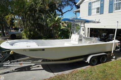 Carolina Skiff 258 DLV dual outboards, 24', for sale - $26,500