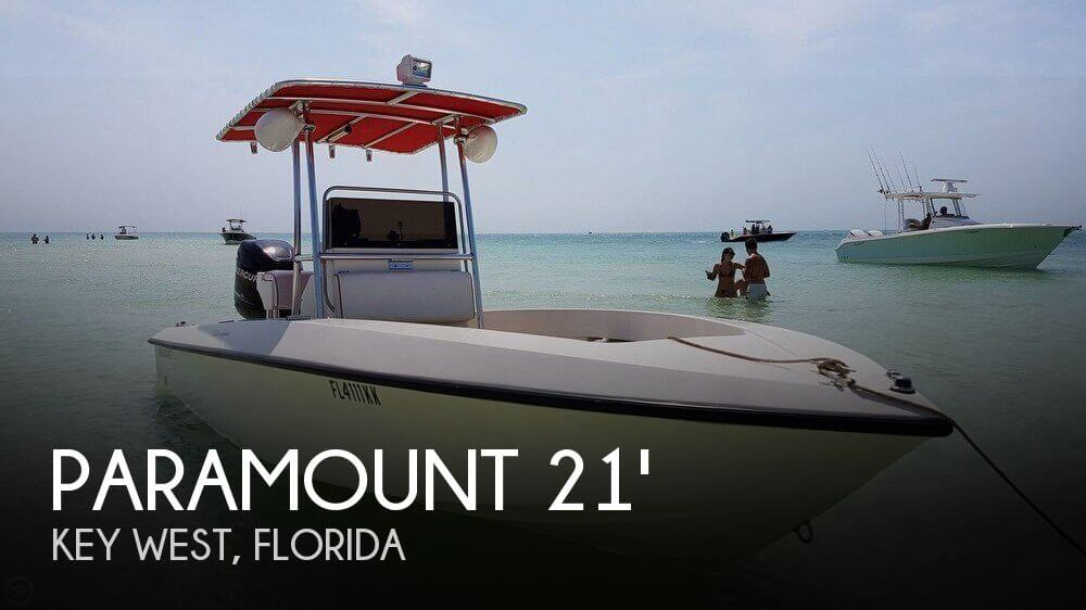 Used Paramount Boats For Sale by owner | 1999 Paramount 21