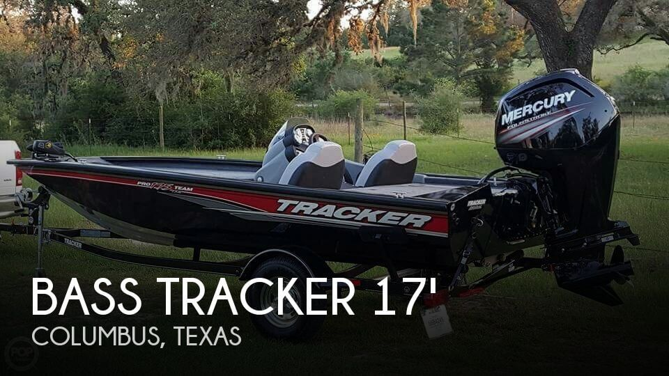 Canceled bass tracker pro 175 txw boat in columbus tx for Bass pro fishing sale