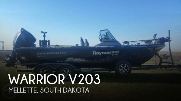 Used Boats For Sale in South Dakota by owner   2015 Warrior 20