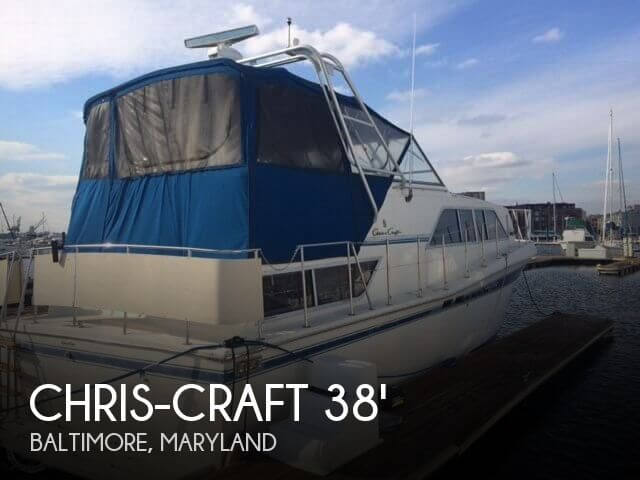 Used Motoryachts For Sale in Maryland by owner | 1985 Chris-Craft 38