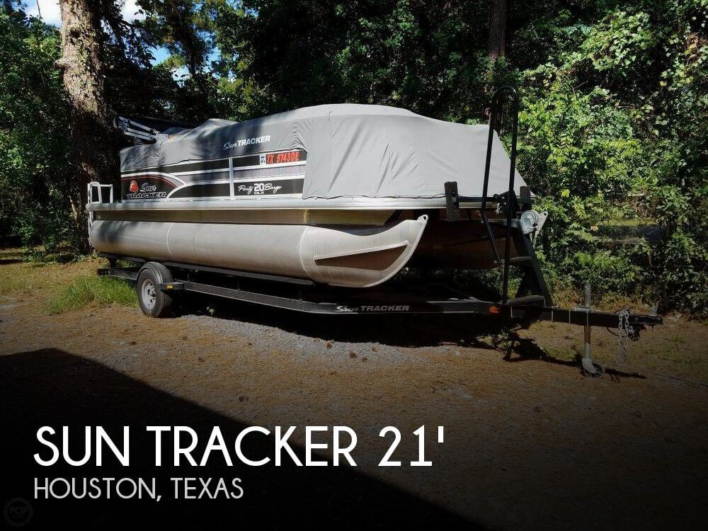 Used Pontoon Boats For Sale in Texas by owner | 2015 Sun Tracker 21