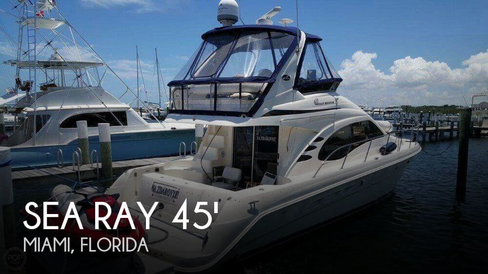Used Sea Ray Boats For Sale in Florida by owner | 2004 Sea Ray 45