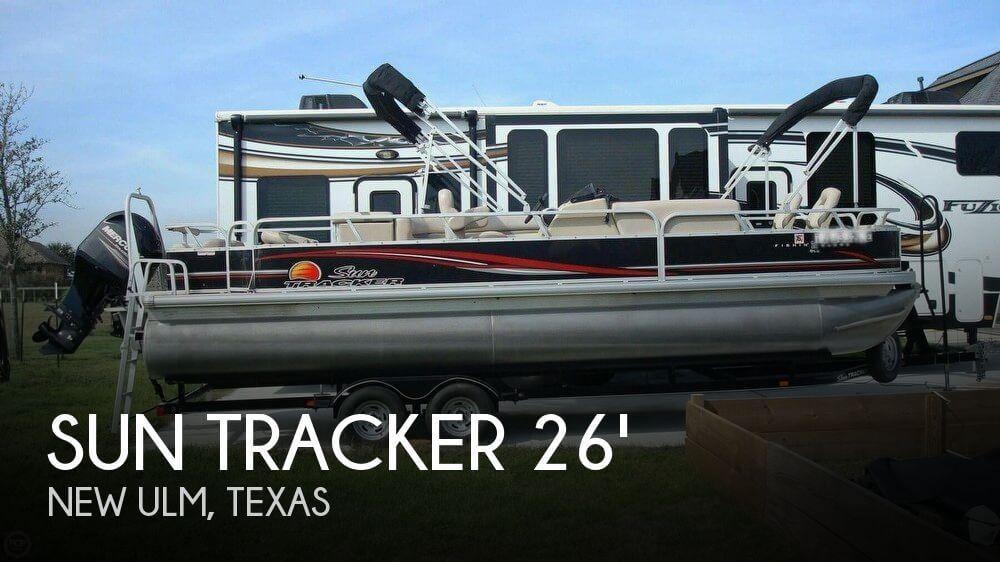 2014 Sun Tracker Fishin' Barge 24 Signature Series