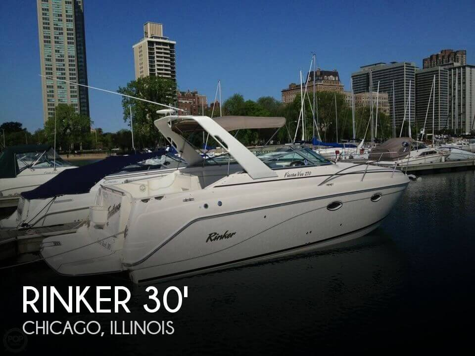 30 Foot Rinker 30 30 Foot Rinker Motor Boat In Chicago