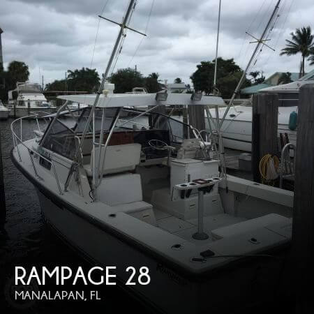 Used Rampage Boats For Sale by owner | 1988 Rampage 28
