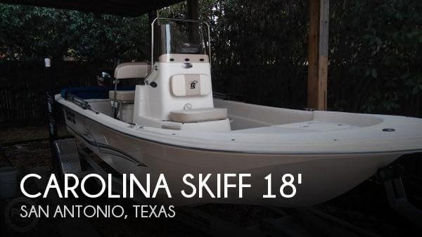 Used Carolina Skiff 18 Boats For Sale by owner | 2016 Carolina Skiff 18