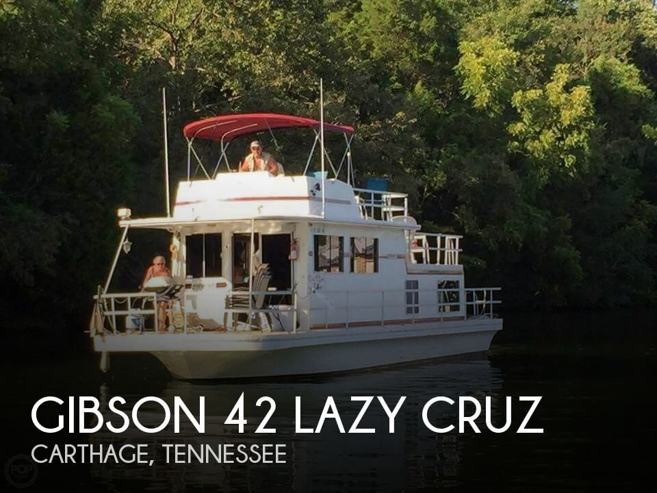 Used GIBSON Houseboats For Sale by owner | 1984 Gibson 42