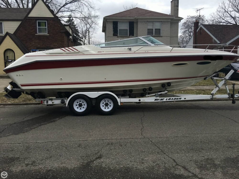 1989 Sea Ray boat for sale, model of the boat is 260 CC & Image # 2 of 40
